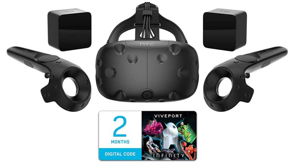 HTC Vive Virtual Reality System with controller for pc