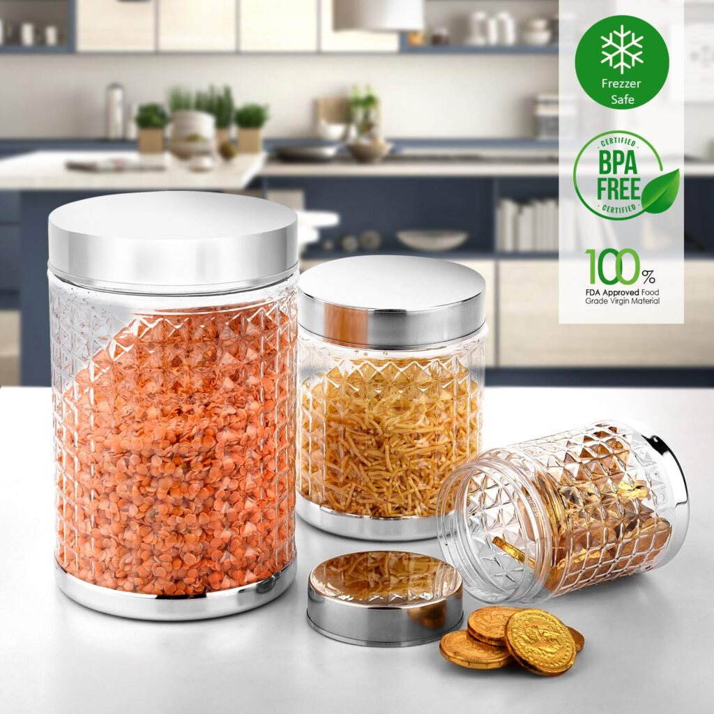 Deal of the Day large plastic container set