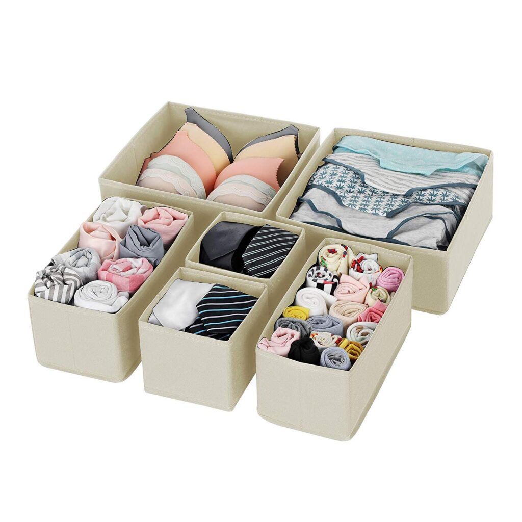House of Quirk Foldable Cloth Storage Box