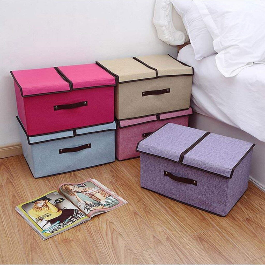 Styleys Linen storage boxes for clothes