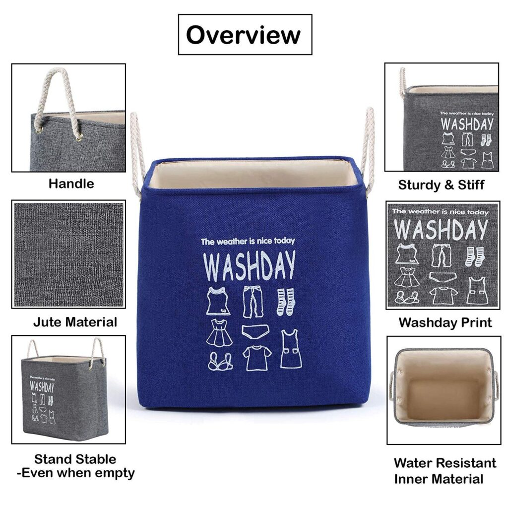 Waterproof storage boxes for clothes