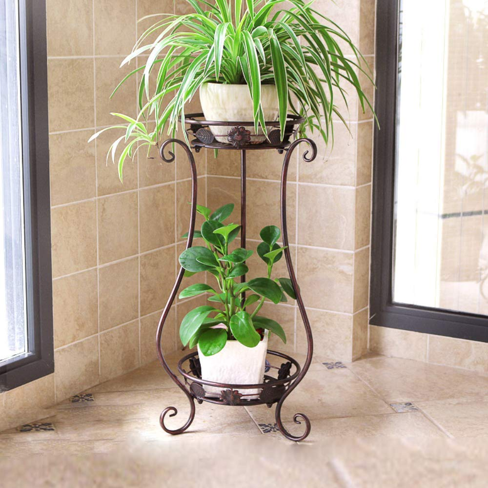 Crafter Metal Plant Stand, Copper, 11.4 x 9.6 x 24.4 inches, 1 Piece