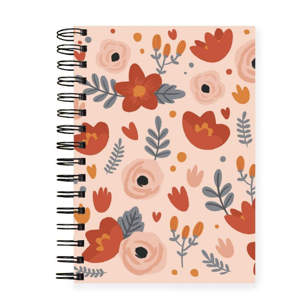 HAPPYWAGON - Coral Lush Planner Monthly and Daily Planning