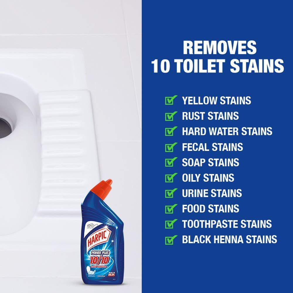 List of Toilet Stains Harpic Powerplus Toilet Cleaner can Clean