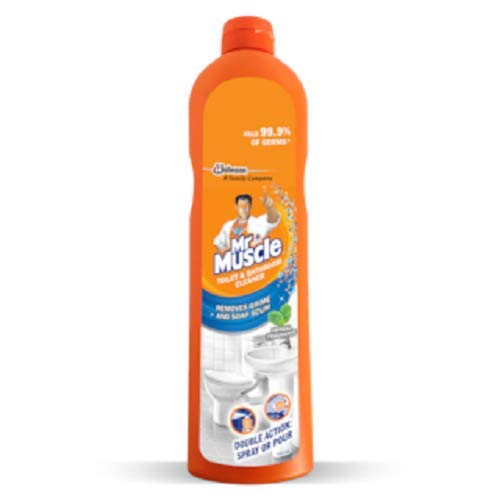 Mr. Muscle Toilet and Bathroom Cleaner - 450 ml