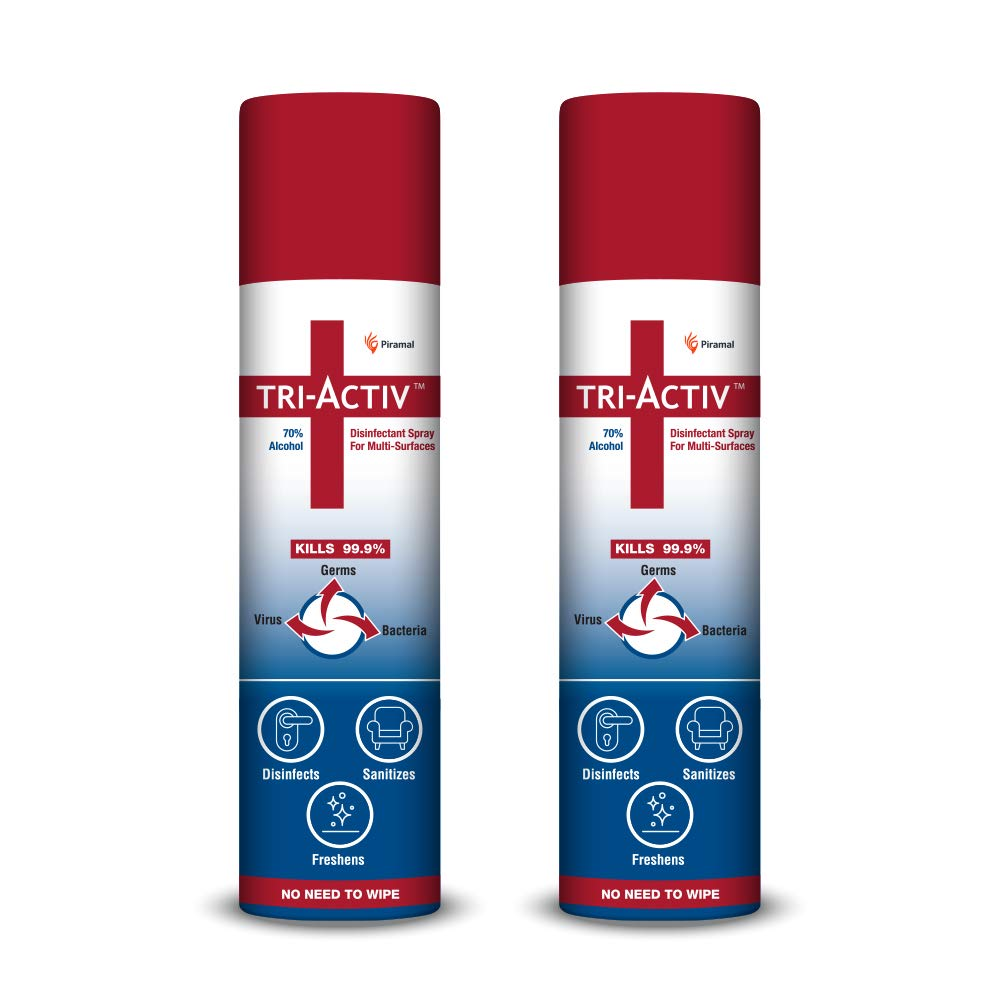 Tri-Activ 70% Alcohol Based Disinfectant Spray for Multi-Surfaces