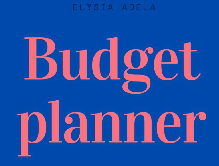 Budget Planner: Planner For Your Finance